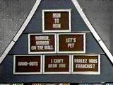 A typical board on the $20K Pyramid