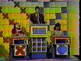 The Hollywood Squares podiums